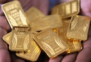 Золотые слитки emgoldex