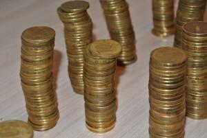 Обмен монет на купюры в Сбербанке России