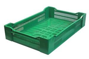 Пластиковый ящик для клубники