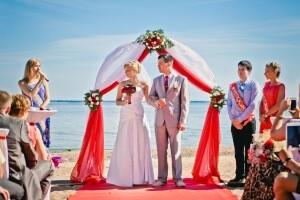 Проведение выездных церемоний бракосочетания