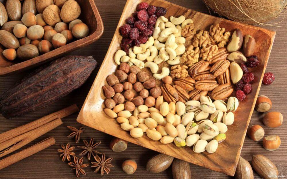 Орехи для кулинарии