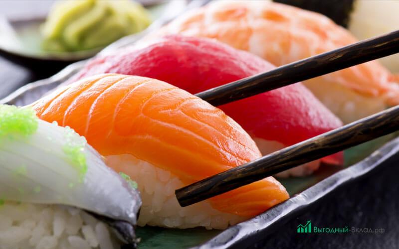 Доставка блюд японской кухни - бизнес-план, документы, сколько можно заработать