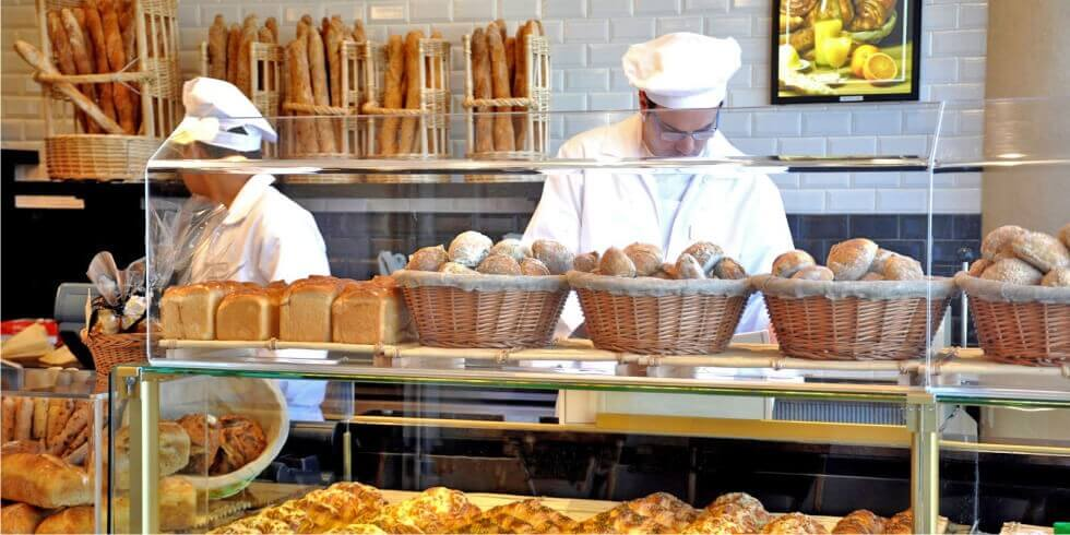 мини пекарня с магазином